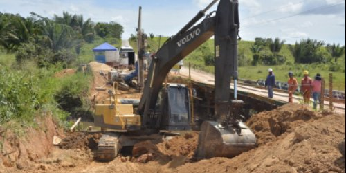 TRAFEGABILIDADE - Governo recupera mais de 2 mil metros de pontes no interior do Estado