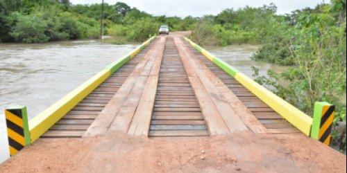 MELHORIAS NAS PONTES | Governo de Roraima reforma pontes para manter boa trafegabilidade nas estradas