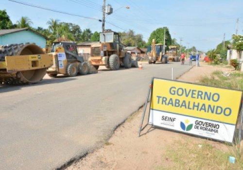 A RR-325, com 143 km de Mucajaí a Alto Alegre, receberá serviço de manutenção em 100% da rodovia