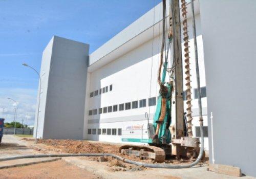 BLOCO E - Com obra retomada, anexo do Hospital Geral de Roraima deve ser concluído em setembro