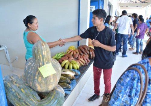 Feira Livre de Três Corações torna-se ponto para venda de produtos da agricultura familiar indígena na região do Amajari