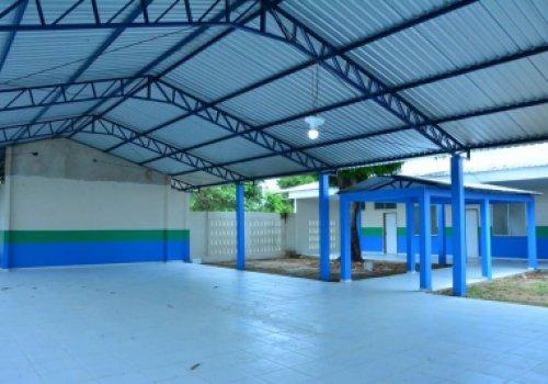 Escola Estadual 13 de Setembro - Reforma garante mais estrutura para a educação