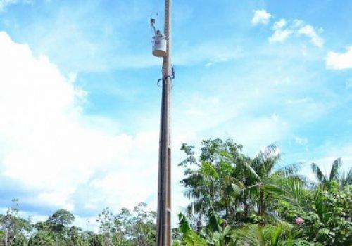 Eletrificação Rural - Obra atende vicinais em Iracema