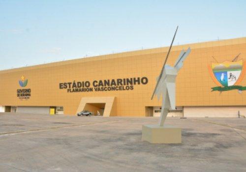 REINAUGURAÇÃO DO CANARINHO | Governo de Roraima entrega Estádio Flamarion Vasconcelos mais confortável e moderno à sociedade e ao esporte roraimenses