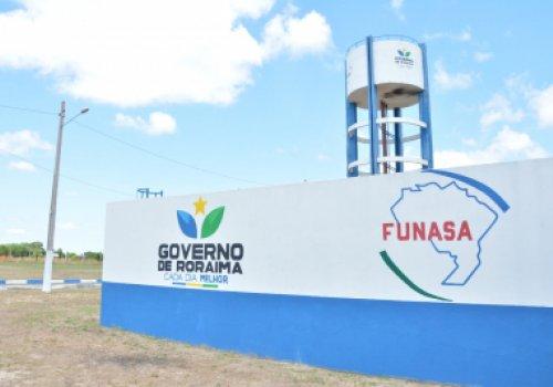 Governo de Roraima inaugura revitalização dos sistemas de água e de esgotos em Bonfim