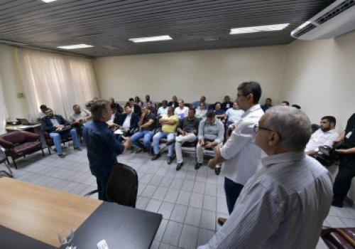 Secretaria de Infraestrutura participa de fórum com prefeitos e Governador