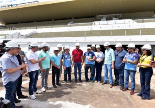 NA COPA DO BRASIL | Governador Antonio Denarium anuncia inauguração do Canarinho no jogo entre São Raimundo e Cruzeiro