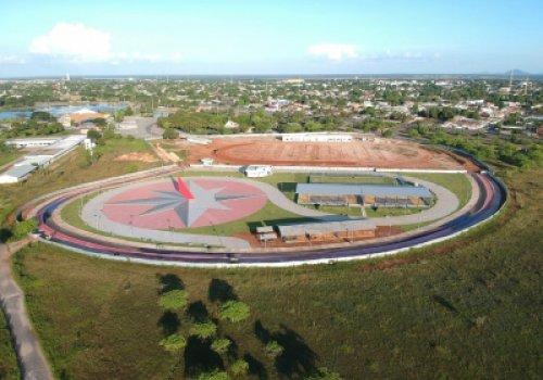 Obra de revitalização do Parque Anauá - Dividida em duas etapas, obra inclui quadras poliesportivas, campo gamado, academia, pista de atletismo e outros