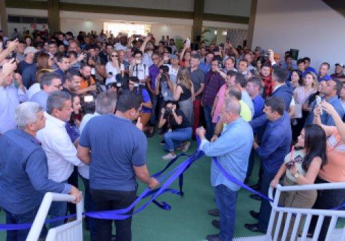 CANARINHO - Reinauguração do Estádio Flamarion Vasconcelos é marcada pela presença de autoridades, esportistas e família de homenageado